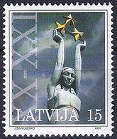 LETTLAND 2000 Mi-Nr. 529 C ** MNH - Latvia