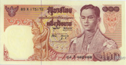 Thailand 100 Baht (P85a) Sign 49 -UNC- - Thaïlande