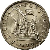 Monnaie, Portugal, 2-1/2 Escudos, 1979, SUP, Copper-nickel, KM:590 - Portugal
