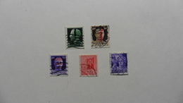 ITALIE   :République Sociale : 5 Timbres Oblitérés - Collections