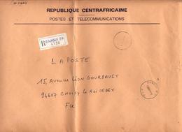 Lettre Franchise Recommandee Bangui - Centrafricaine (République)