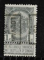Leuven 1903  Nr. 503B - Precancels
