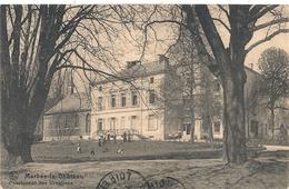 Cpa Belgique Merbes Le Chateau Pensionnat Des Ursulines - Merbes-le-Château