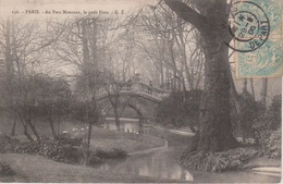 TAD Manuel PARIS / DEPART Type 84C (cercle Intérieur Complet) N En Place De La Levée 29/8/1906 - Marcophilie (Lettres)