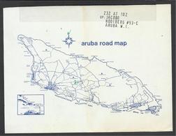 Aruba, Road Map. - Cartes Routières