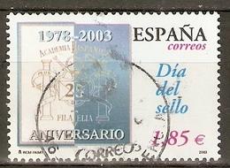 ESPAÑA 2003 EDIFIL 3980 USADO - 1931-Today: 2nd Rep - ... Juan Carlos I