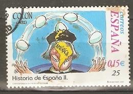 ESPAÑA 2001 EDIFIL 3822 USADO - 1931-Today: 2nd Rep - ... Juan Carlos I