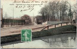 77 CLAYE - Panorama De La Place Et La Grande Rue - Claye Souilly