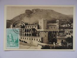 CARTE MAXIMUM CARD LE PALAIS PRINCIER DE  MONACO - Monaco