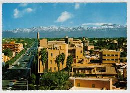 MARRAKECH    AVENUE  MOHAMMED V  ET  GRAND  ATLAS                       (NUOVA) - Marrakech