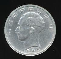 LEOPOLD III 50 FR 1939  NEDERLANDS / FRANS  2 SCANS   MOOIE STAAT - 1934-1945: Leopold III