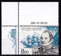 2003, EESTI, 469, Fabian Gottlieb Von Bellingshausen.  MNH - Estonie