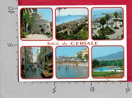 CARTOLINA VG ITALIA - Saluti Da CERIALE (SV) - Panorama Vedutine - 10 X 15 - ANN. 1995 - Souvenir De...