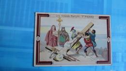 CHROMO : SUPREME CHOCOLAT : Les Grands Martyrs : ST PIERRE - Chocolate