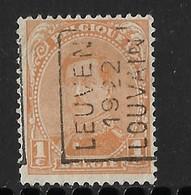 Leuven 1922  Nr. 2782A - Vorfrankiert