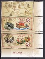 2003, EESTI, 470/71, Alte Handelswege über Die Ostsee, MNH ** - Estonie