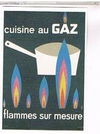 PUBLICITE   CPM   GAZ DE BORDEAUX - Publicité