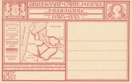 Nederland - 1926 - 10 Cent Landwinning Zuiderzee, Briefkaart G213b - Ongebruikt - Postwaardestukken