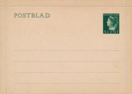 Nederland - 1940 - 5 Cent Konijnenburg, Postblad G20 - Ongebruikt - Postwaardestukken