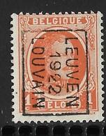 Leuven 1922  Nr. 2938B - Vorfrankiert