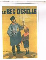 PUBLICITE   CPM   GAZ DE BORDEAUX LE BEC DESELLE - Pubblicitari