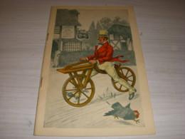 LIVRET Avec HISTOIRE VELO Et PUBLICITES 1958 CYCLES HERGE DESSINS REBOUR 32p. - Sport