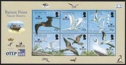 BIOT 2006 - Mi-Nr. 418-423 ** - MNH - Vögel / Birds - Britisches Territorium Im Indischen Ozean