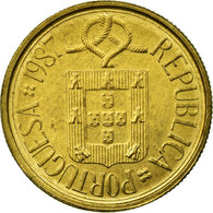 Monnaie, Portugal, Escudo, 1987, TTB, Nickel-brass, KM:631 - Portugal