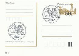 I0533 - Tschechoslowakei (1991) Bratislava 211: IX. Nationale Sportspiele Für Kommunikationsarbeiter - Post