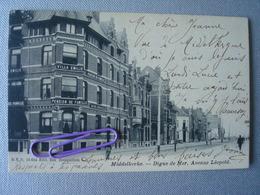 MIDDELKERKE : Avenue Léopold, Villa EMILIE Pension De Famille  En 1904 - Middelkerke