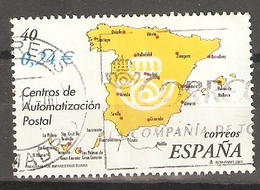 ESPAÑA 2001 EDIFIL SH 3855 A USADO - 1931-Today: 2nd Rep - ... Juan Carlos I