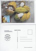 CARTE MAXIMUM - MAXIMUM KARTE - TARJETA MAXIMA - MAXIMUM CARD - PORTUGAL - DU CACAO AU CHOCOLAT - FRUIT ET CABOSSA - Fruits