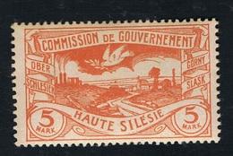Oberschlesien 1920 26. März Mi:DR-OS 29a, Sn:DR-OS 31, Yt:DR-OS 47, Sg:DR-OS 35, AFA:DR-OS 29 Postfrisch Xx - Deutschland