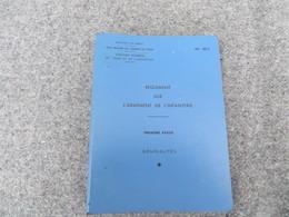 INF. 401/1 - Règlement Sur L'armement De L'infanterie - 269/09 - Livres, BD, Revues