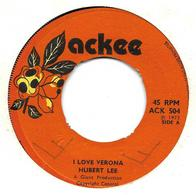 """Hubert Lee  """"  I Love Verona  """" - Vinyl Records"""