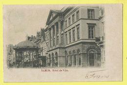 * Namur - Namen (La Wallonie) * (Union Postale Universelle) Hotel De Ville, Town Hall, Stadhuis, Kiosque, Kiosk, Rare - Namur