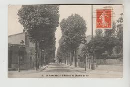 CPA LA GARENNE COLOMBES (Hauts De Seine) - L'Avenue Du Chemin De Fer - La Garenne Colombes