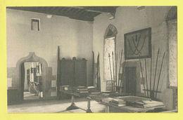 * Ecaussinnes Lalaing (Hainaut - La Wallonie) * (Nels) Vieux Chateau D'Ecaussines Lalaing, Grand Hall D'entrée - Ecaussinnes