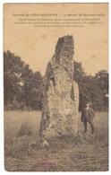 CPSM. France. Environs De Crécy-sur-seine.  Le Menhir De Bois-les-Pargny. 3 Cachet. Timbre. Circulé. 1907 - France