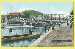 * Namur - Namen (La Wallonie) * (Grands Magasins De La Station) La Passerelle, Canal, Quai, Bateau, Animée, Pont Péniche - Namur