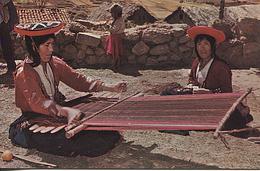 X115116 PEROU PERU CUSCO TELAR PRIMITIVO - Peru