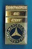 PIN'S //    ** MERCEDES BENZ / COMPAGNIE DE L'EST ** - Mercedes