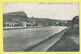 * Dinant (Namur - Namen - La Wallonie) * (nr 22) Vue Prise De La Rive Gauche De La Meuse, Canal, Quai, Citadelle, Rare - Dinant