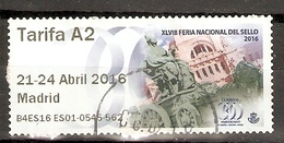ESPAÑA 2016 ATM TARIFA A2 USADO - 1931-Aujourd'hui: II. République - ....Juan Carlos I