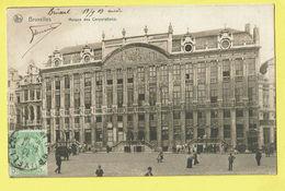 * Brussel - Bruxelles - Brussels * (Nels, Série Bruxelles, Nr 92) Maison Des Corporations, Grand Place, Markt, Timbre - Bruxelles-ville