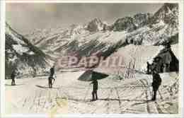 CPM Le Col De Voza Et La Vallee De Chamonix Ski - Chamonix-Mont-Blanc