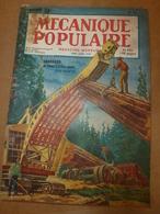 1950 MÉCANIQUE POPULAIRE: La Packard 1951; Chasse De L'or Et Des Diamants;Vannerie En Raphia Et Aiguilles De Pin ; Etc - Books, Magazines, Comics