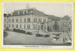 * Boitsfort - Watermaal Bosvoorde (Bruxelles) * (P.B.L. - XL, Nr 10) Maison Communale, Gemeentehuis, Tram, Vicinal, TOP - Watermael-Boitsfort - Watermaal-Bosvoorde
