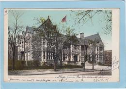PHILADELPHIA  -  HOUSTON  HALL - UNIVERSITY  OF  PENNSYLVANIA  -  1905  - - Philadelphia