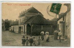 10 VANLAY Carte Rare La Boulangerie BROT Belle Anim PLace Du Village 1909 Timb    /ES 2014 - France
